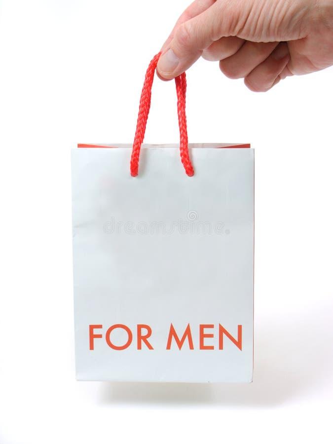 Pacote de um papel para um presente fotos de stock royalty free