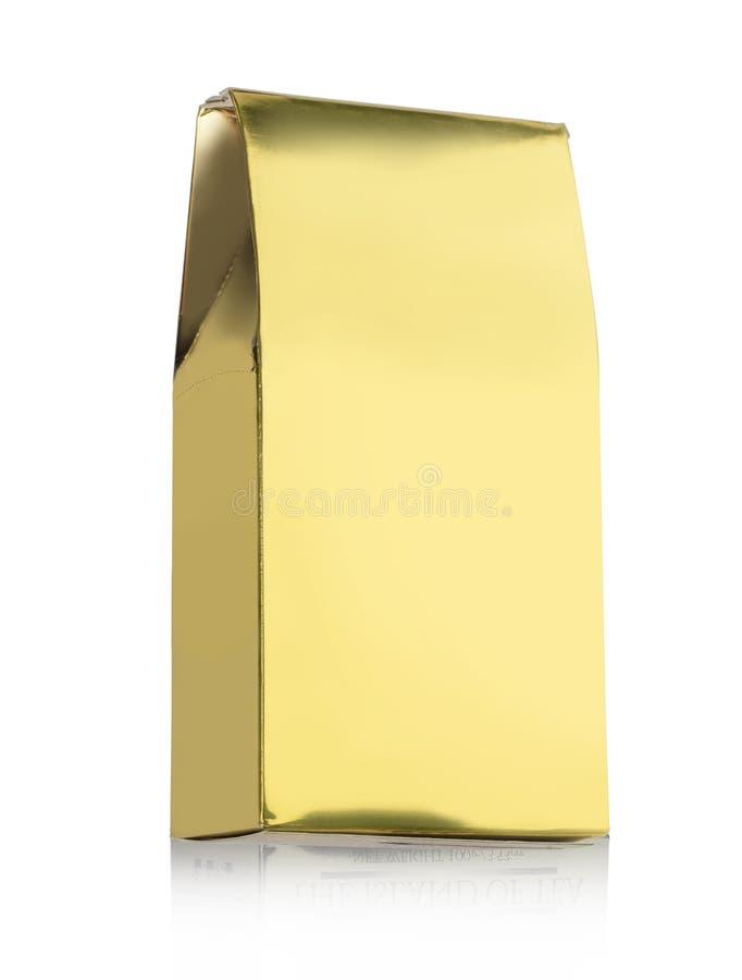 Pacote do petisco fotografia de stock
