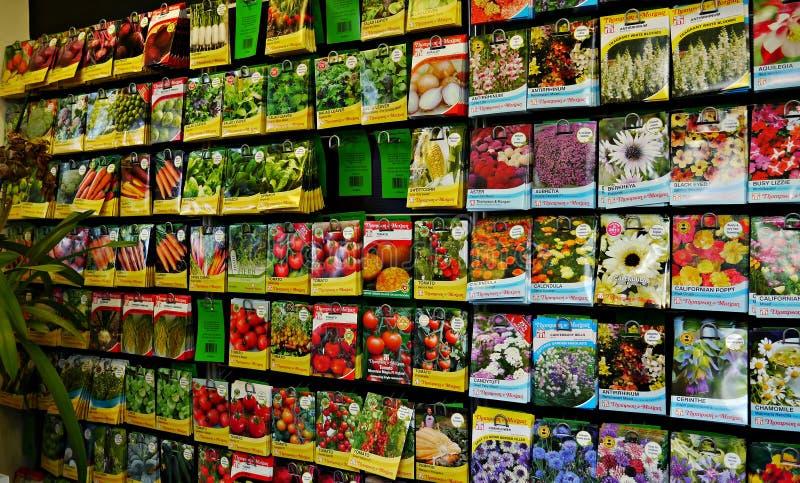 Pacotes De Sementes Para Plantar Na Mola Imagem de Stock Editorial ...