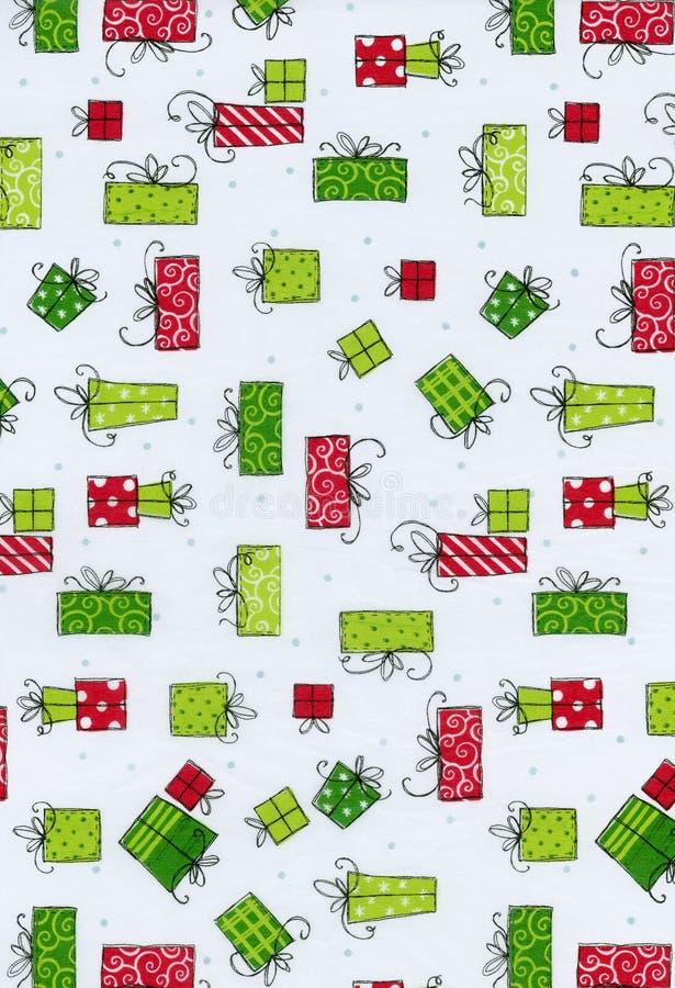 Pacotes do Natal ilustração stock