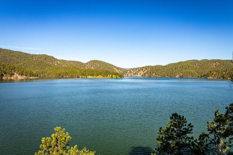 Pactola Lake South Dakota fotografia stock