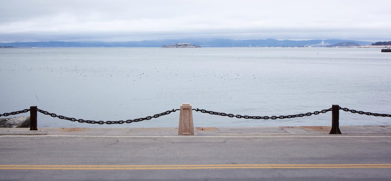 Pacyficznego oceanu brzeg bramy fotografia stock