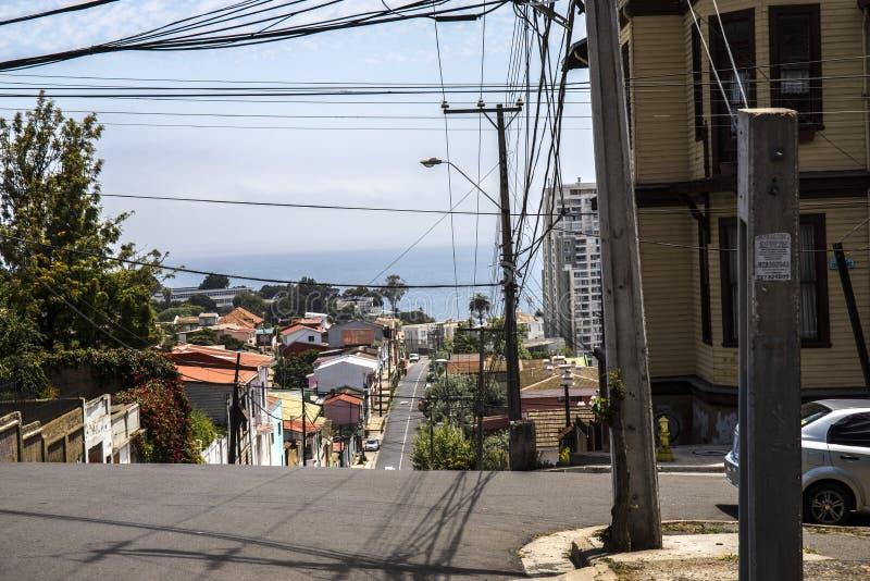 Download Pacyficzny Ocean Santiago De Chile Zdjęcie Stock - Obraz złożonej z pacific, chmury: 106902232