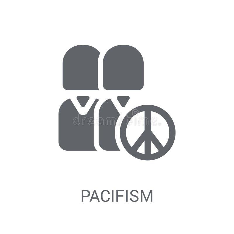 Pacyfizm ikona  ilustracji