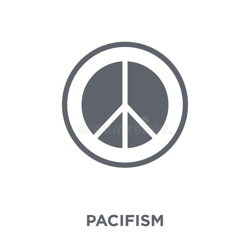 Pacyfizm ikona od kolekcji royalty ilustracja