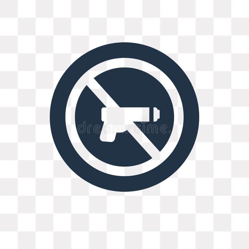 Pacyfizm wektorowa ikona odizolowywająca na przejrzystym tle, Pacifis ilustracja wektor
