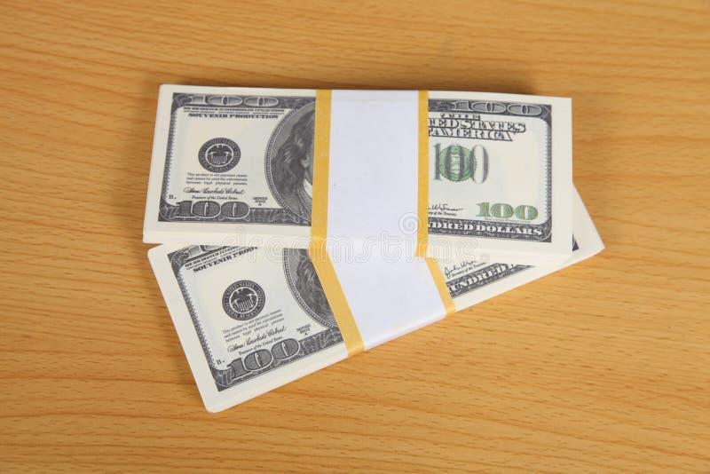 Paczka banknoty fotografia royalty free