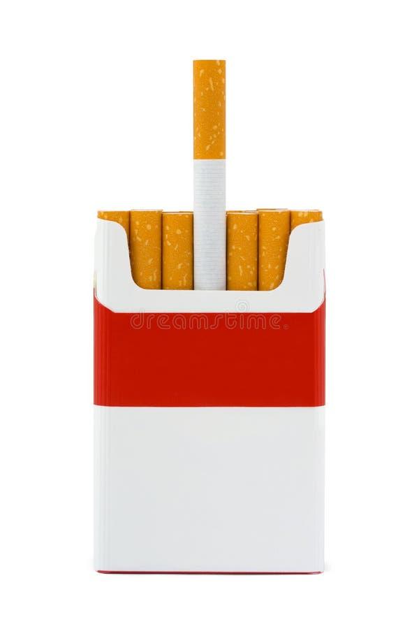 Paczka papierosy fotografia royalty free
