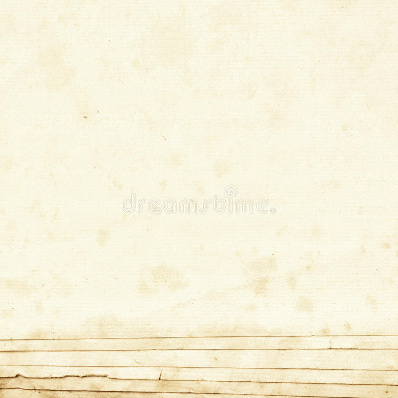 A pad of old untapped art paper royalty free stock images