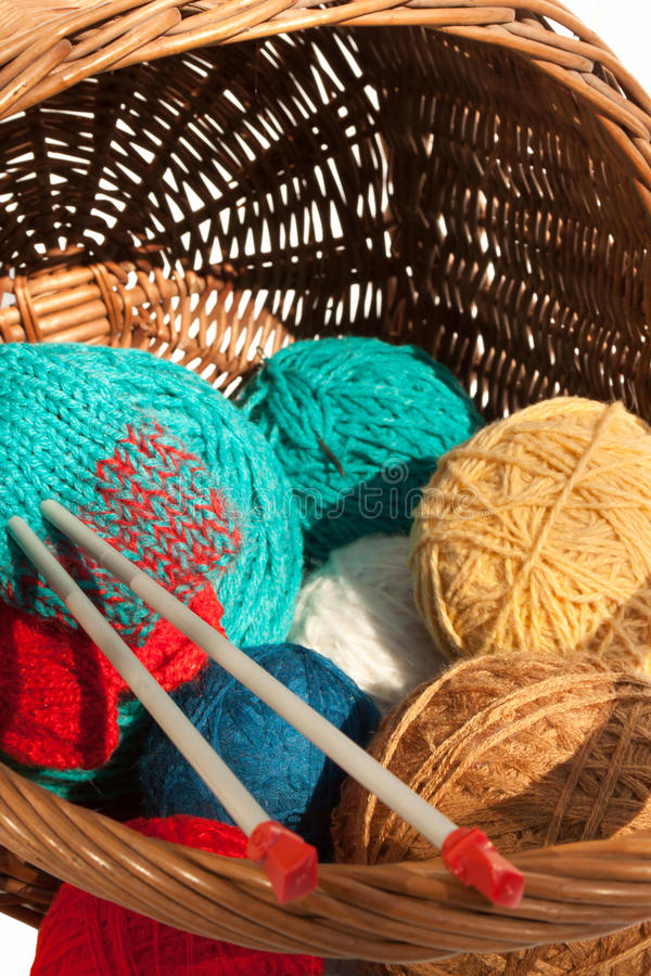 Download The Pad With Suite For Knitting Stock Photo - Image of gray, long: 21261662