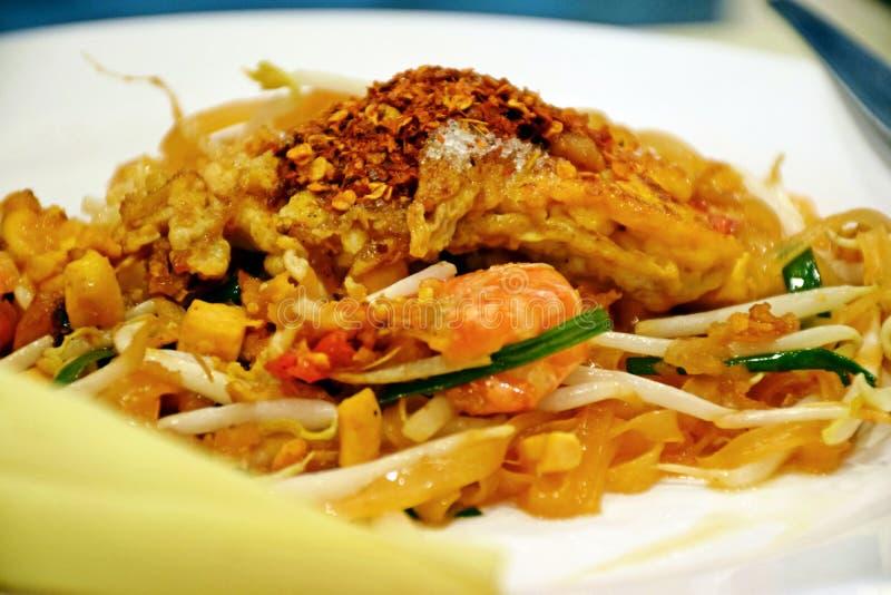 Pad Thai - это вкусная тайская еда стоковые изображения rf