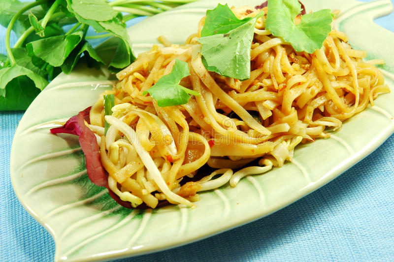 Pad Thai. Is the ultimate street food This  recipe is how you actually find it in Bangkok and comes from testing hundreds of different variations from food royalty free stock photography