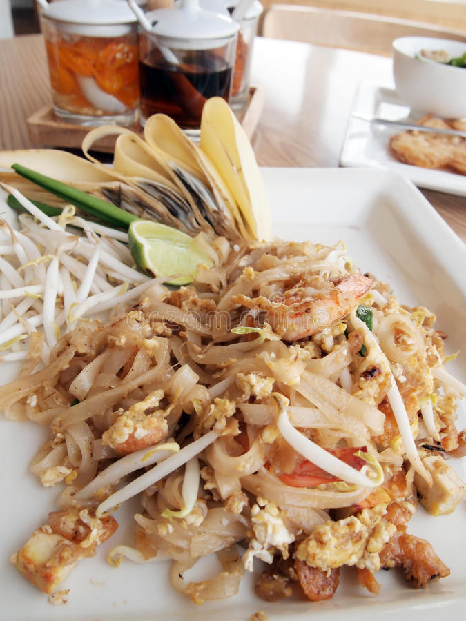 Download Pad thai stock photo. Image of asian, cholesterol, fried - 23620116
