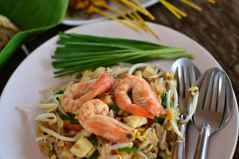 Download Pad thai stock photo. Image of kitchen, background, health - 24394496