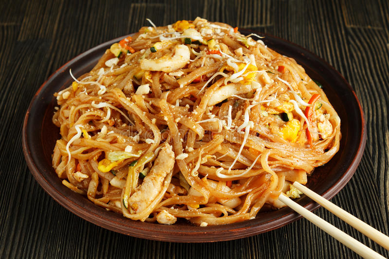 Pad Thai royalty free stock photo