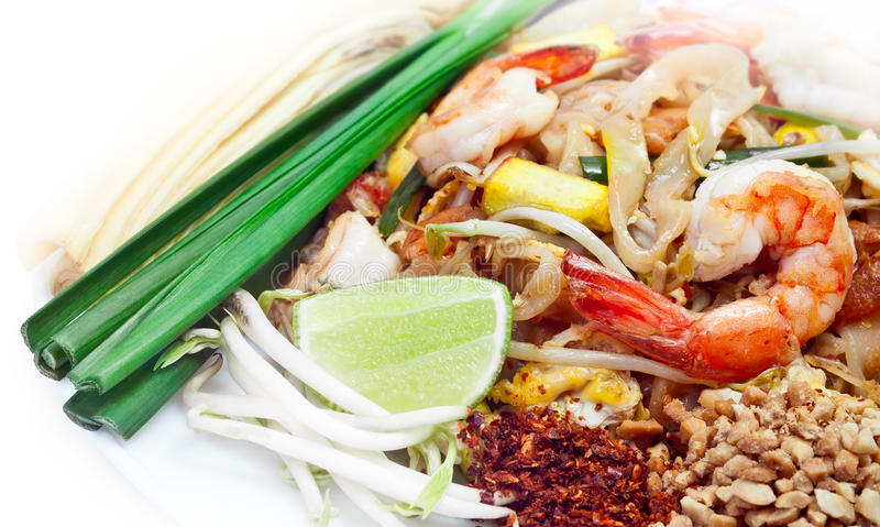 Download Pad thai, Famous Thai Food stock photo. Image of noodle - 32966112