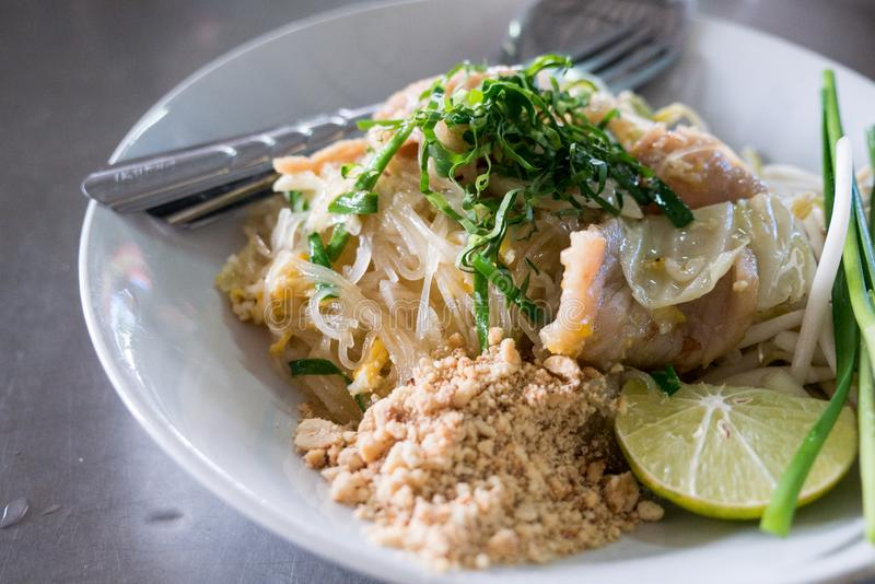 Pad thai, famous thailand food royalty free stock images