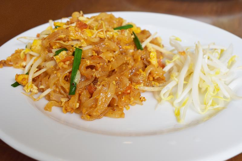 Pad Thai Noodle is Thai Food Style. The one of Thailand`s nation. Al main dish, the popular food in Thailand royalty free stock photography