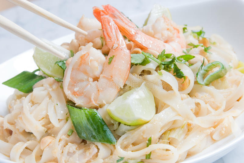 Pad Thai or Phat Thai stock photography