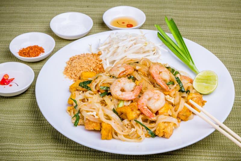 Pad Thai. Thai popular food royalty free stock image
