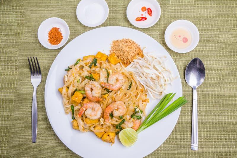 Pad Thai. Thai popular food stock photos