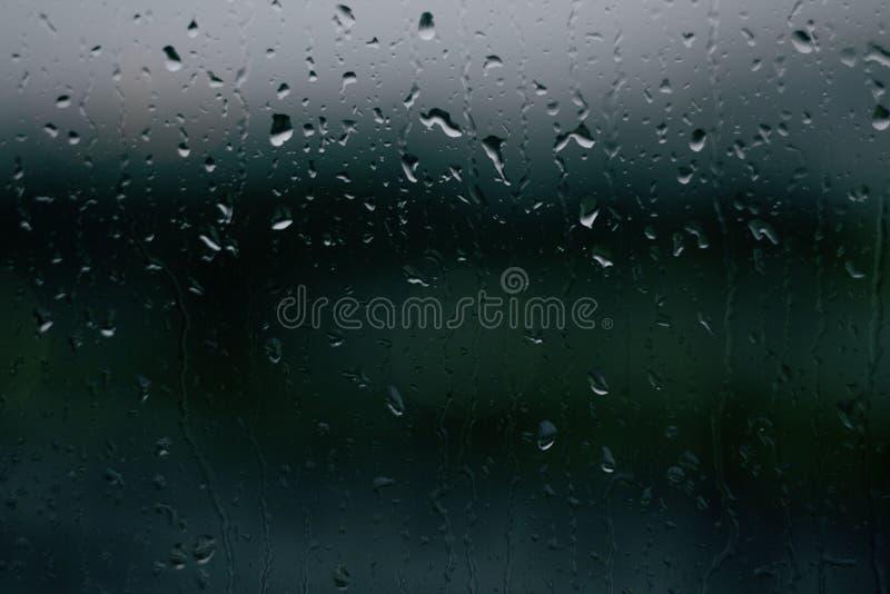Pada, krople, okno, woda, tło, tekstura, pokój obrazy royalty free