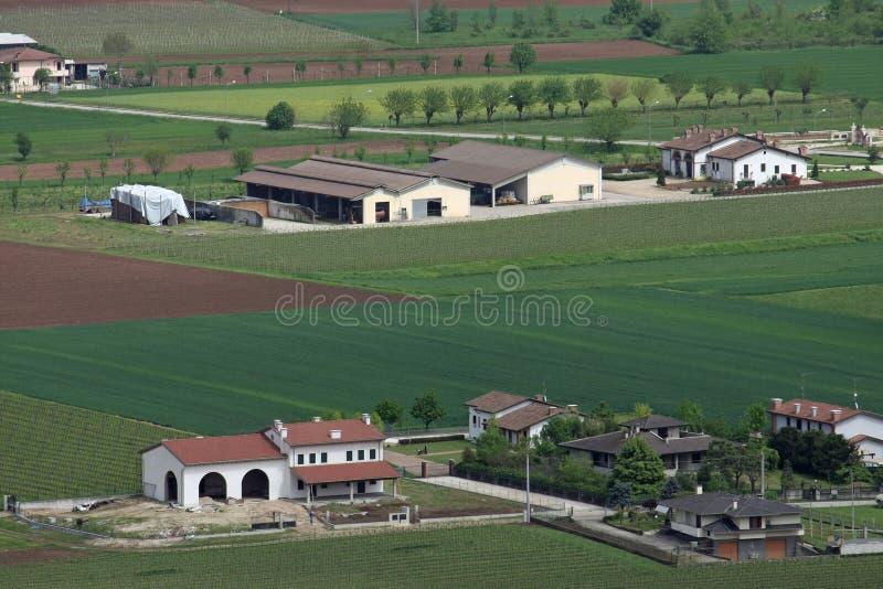 Padana de Pianura en Italie photos libres de droits