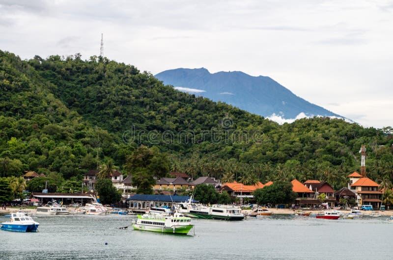 Padang Bai photographie stock libre de droits