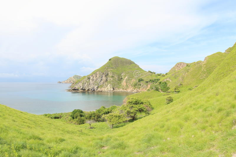 Padar-Insel, Flores, Indonesien lizenzfreies stockbild