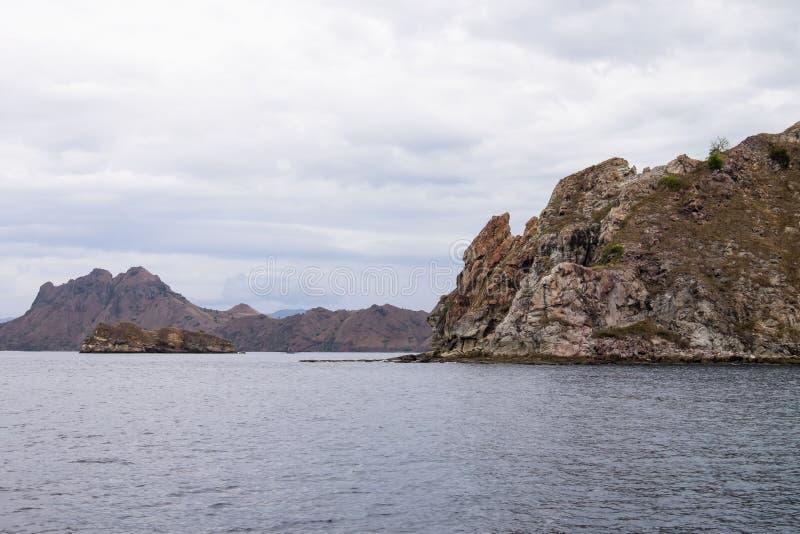 Padar Island in Labuan Bajo, Flores Indonesia royalty free stock images