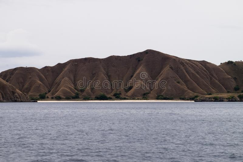 Padareiland in Labuan Bajo, Flores Indonesië royalty-vrije stock afbeeldingen