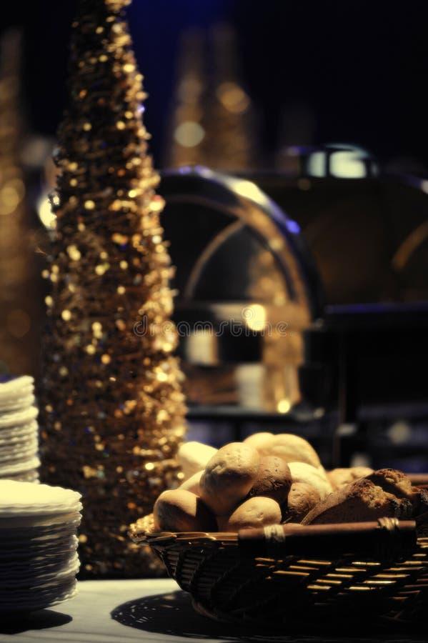 Padaria fresca do Natal imagens de stock royalty free