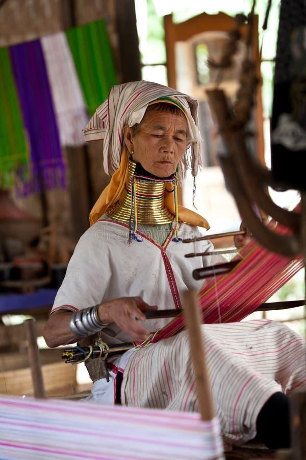 padaung γυναίκα φυλών στοκ φωτογραφία με δικαίωμα ελεύθερης χρήσης