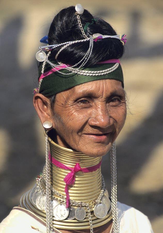 Padaung Tribe 1 royalty free stock image