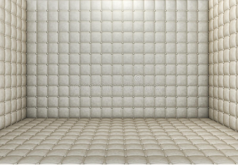 Padded room stock illustration image of dementia padded for Padded wall wallpaper