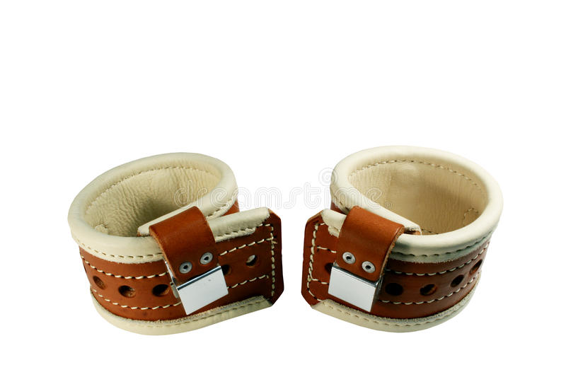 Download Padded Wrist Restraints Isolated Royalty Free Stock Photography - Image: 17719017
