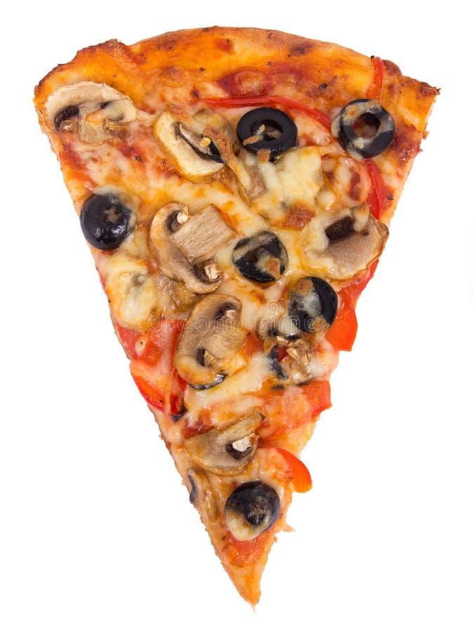 Download Paddestoel en olijfpizza stock afbeelding. Afbeelding bestaande uit paddestoel - 39114447
