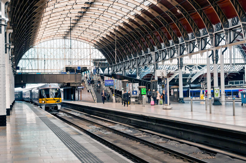 Paddington Station stock photo