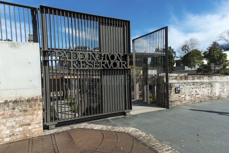 Download Paddington Vorratsbehältergatter Redaktionelles Stockfotografie - Bild von architektur, vorratsbehälter: 26353407