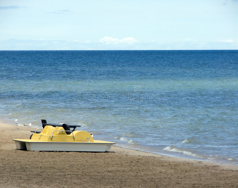 Download Paddle Boat stock image. Image of cottage, superior, lakes - 30375