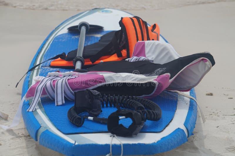 Paddle przekładnia i fotografia stock