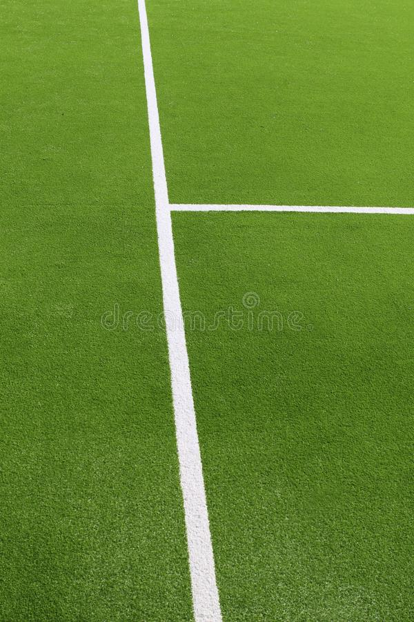 Paddle tennis green grass camp field texture stock photography