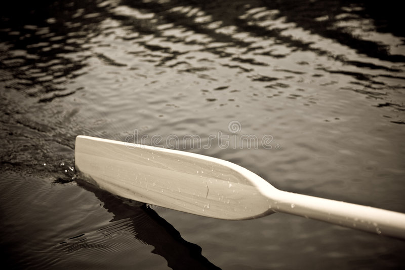 Download Paddle in the water stock image. Image of ripples, bubbles - 2824563