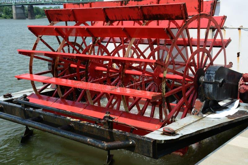 Paddle wheel stock photo