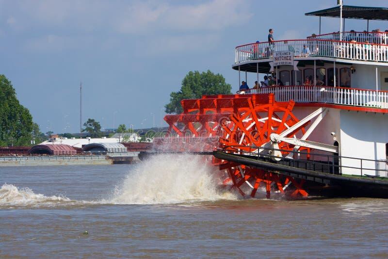 Paddleboat ou riverboat imagem de stock royalty free
