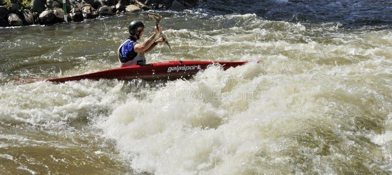 Paddler Kayak стоковая фотография rf