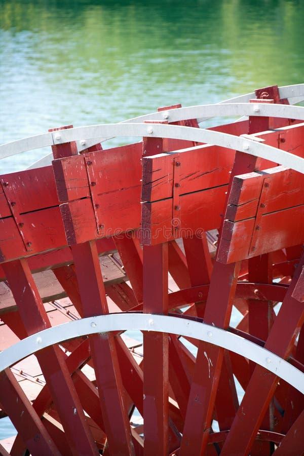 paddlewheel riverboat obrazy stock