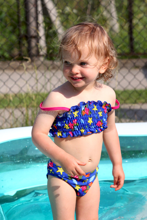 Paddling pool stock images