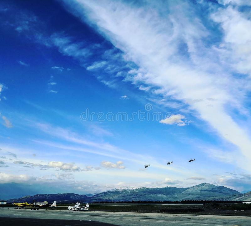 Padgorice lotnisko zdjęcie stock