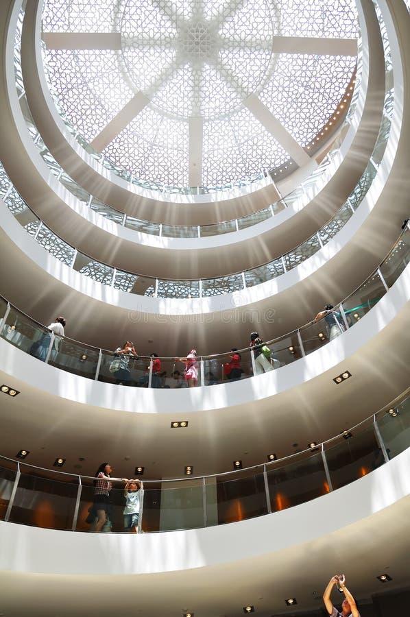 padiglione 2010 dell'Arabia Saudita dell'Expo di Schang-Hai fotografia stock libera da diritti